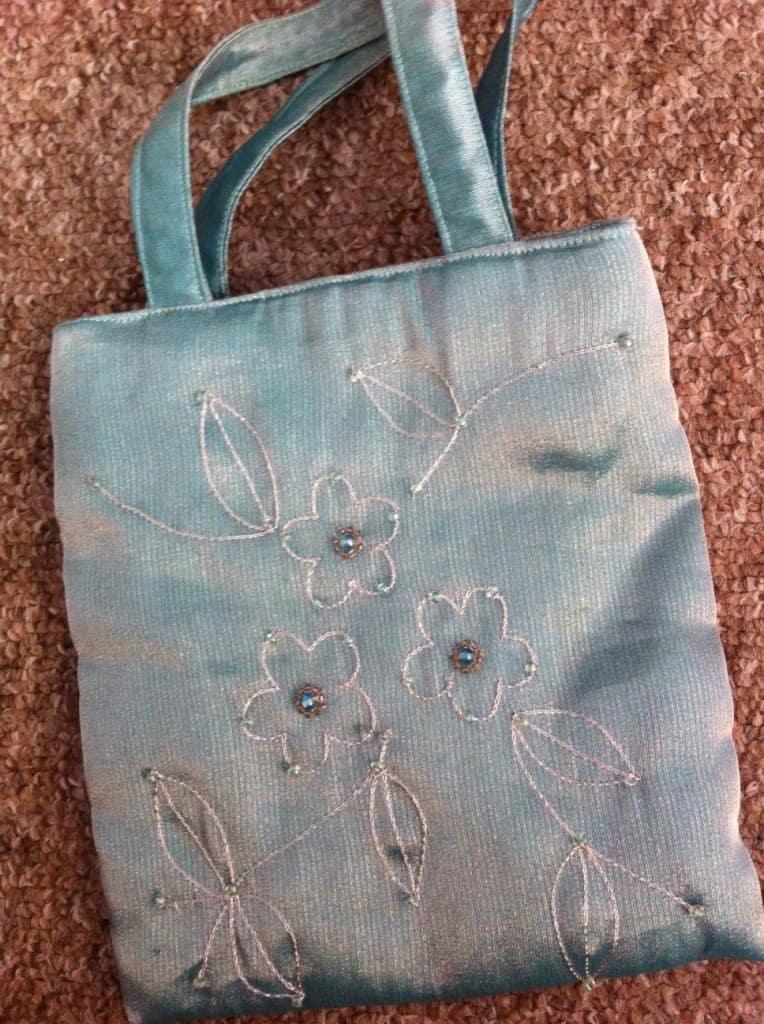 Jade Evening Bag