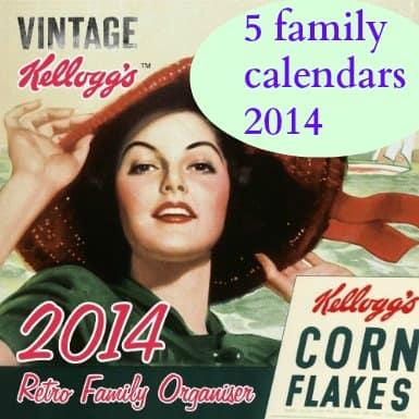 5 family calendars