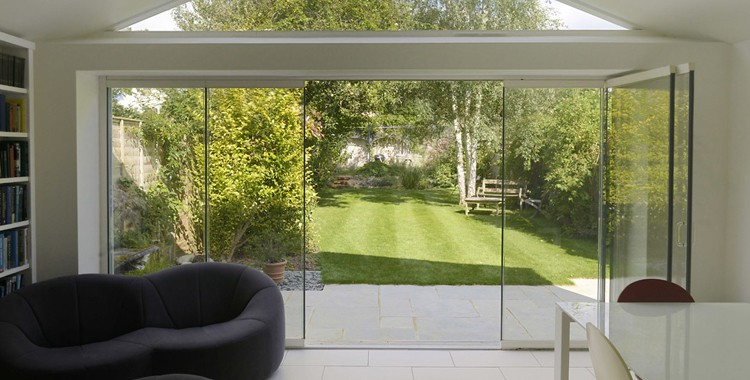 glass doors, More Natural Light