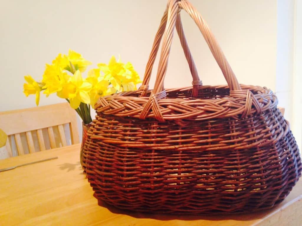 basket flowers, Living like my Grandma