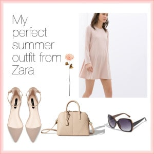 perfect summer outfit from Zara