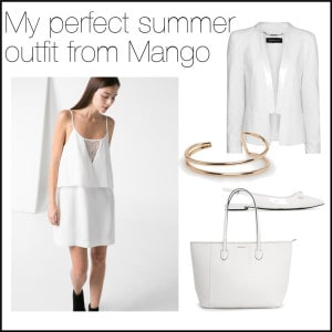 perfect summer outfit from mango
