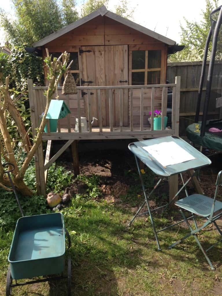 A Stylish Children's Garden
