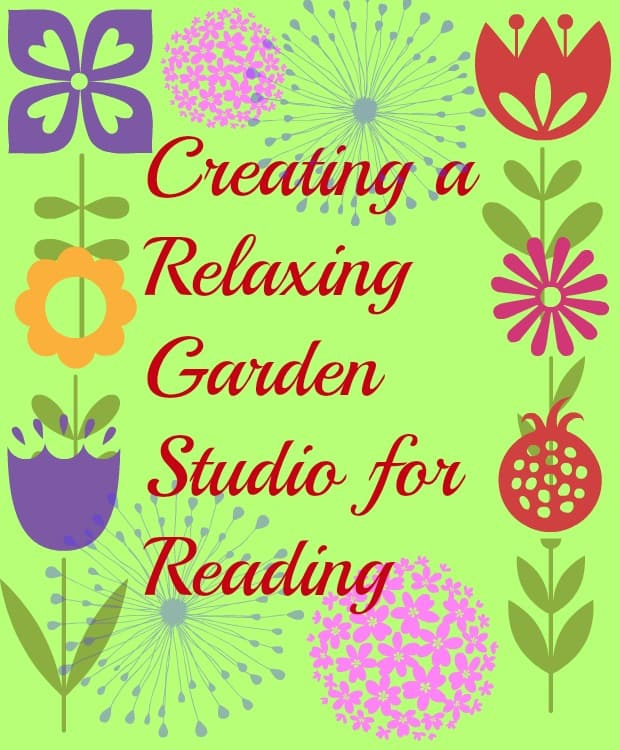 creating a relaxing garden studio for reading