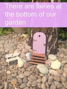 Fairy garden pin