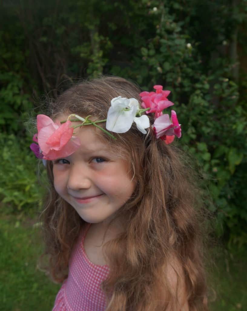 flower crown, How to make a flower crown