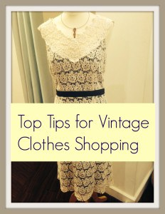 top tips for vinatge clothes shopping