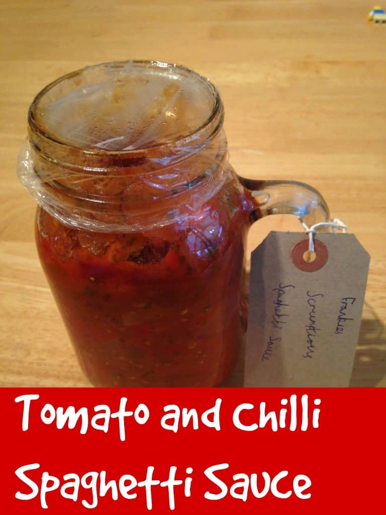 Tomato and chilli spaghetti sauce 2