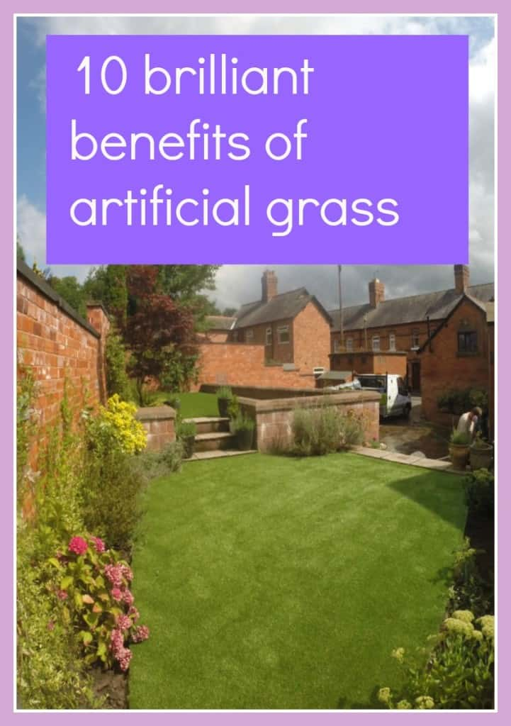 benefits of artificial grass?