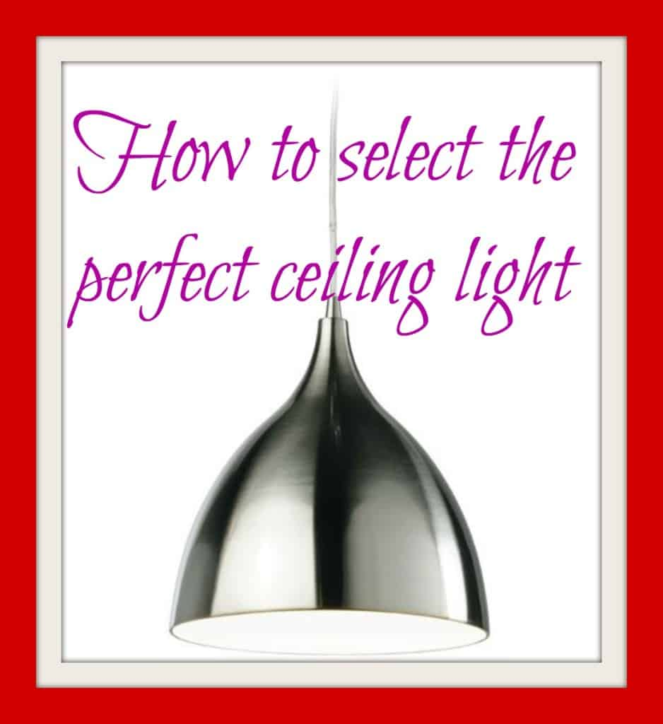 perfect ceiling light