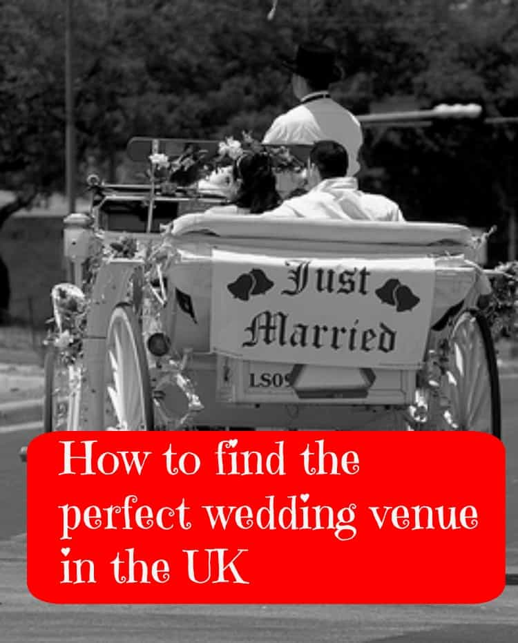How to find the perfect wedding venue int he UK