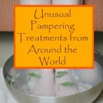 unusual pampering treatments