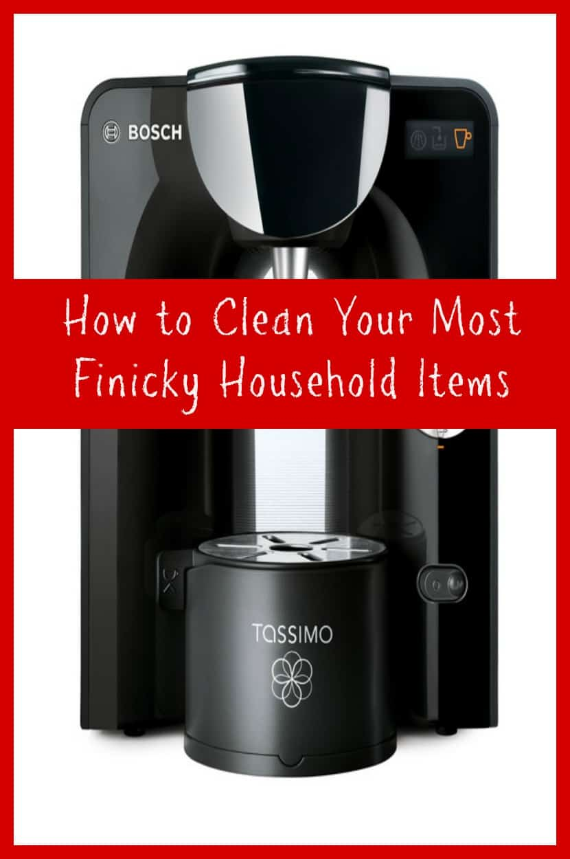 How to Clean Your Most Finicky Household Items