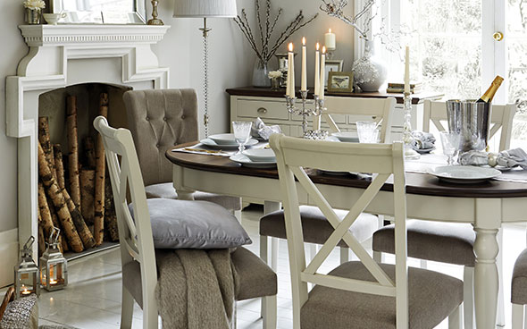 Win a beautiful dining table and chairs