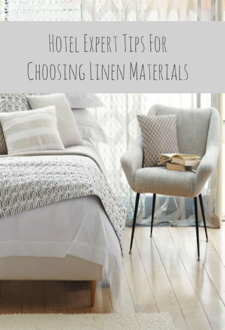 Hotel Expert Tips For Choosing Linen Materials