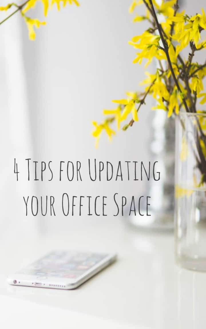how to update your office space