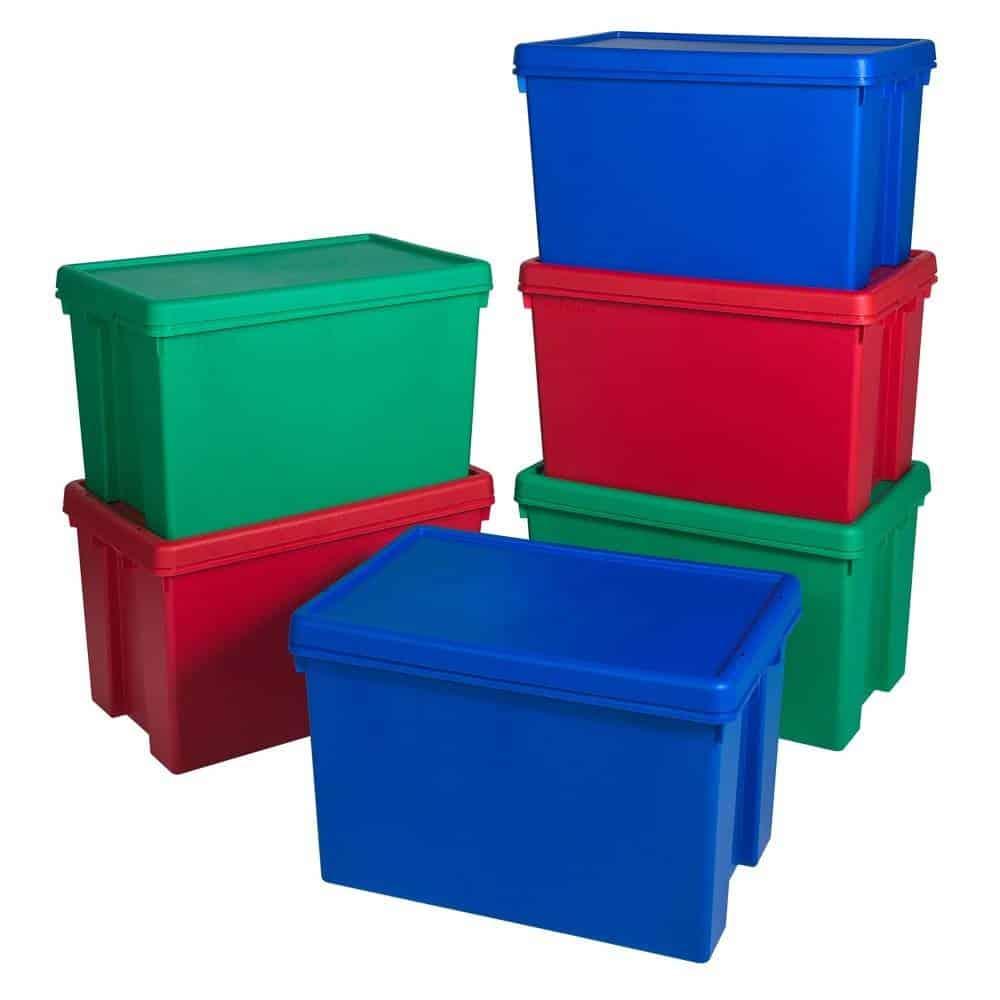 a good quality plastic box