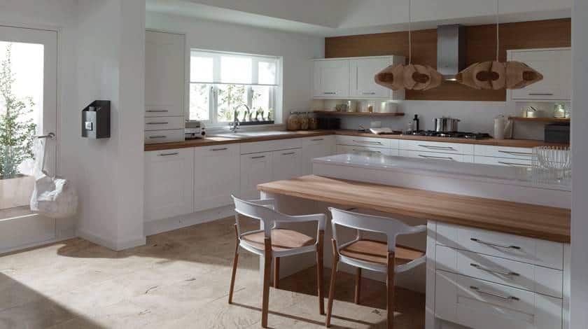 white kitchen, kitchen trends in 2016
