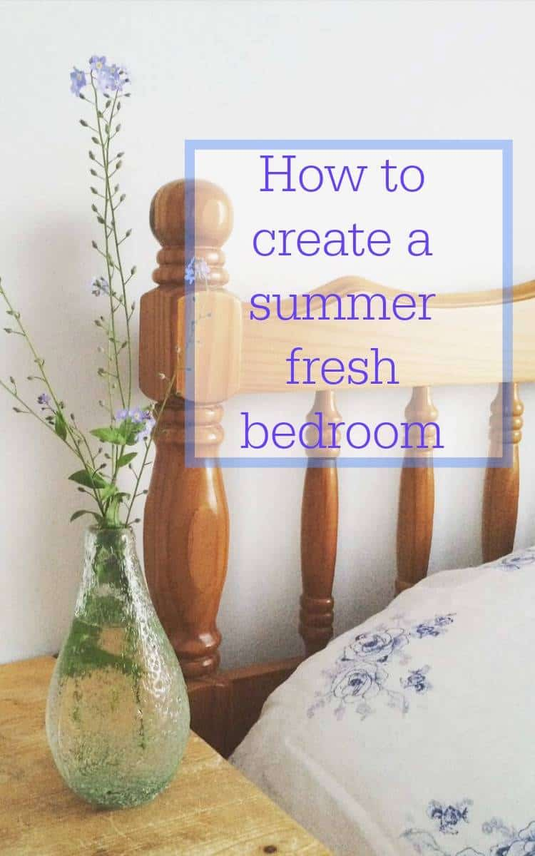 summer fresh bedroom