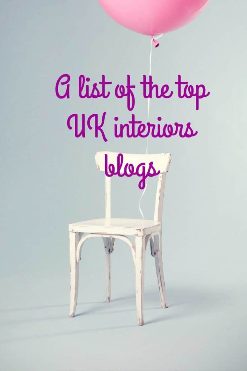 The top UK interiors blogs