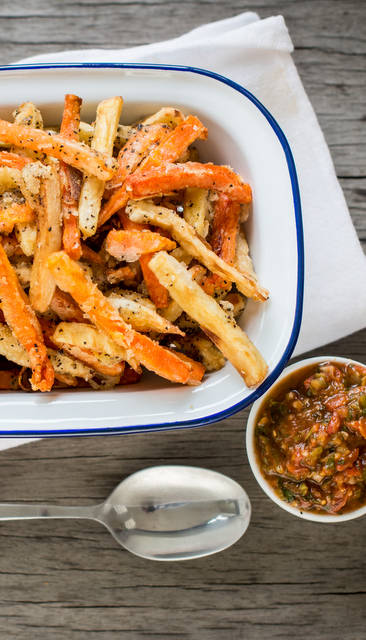 Carrot and Parsnip Fries