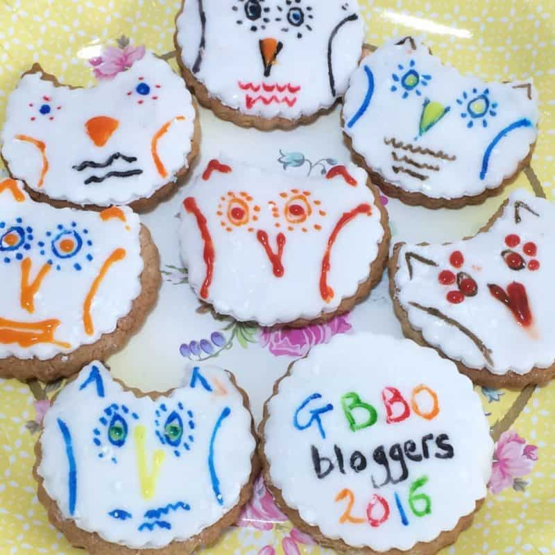 Iced Owl Biscuits