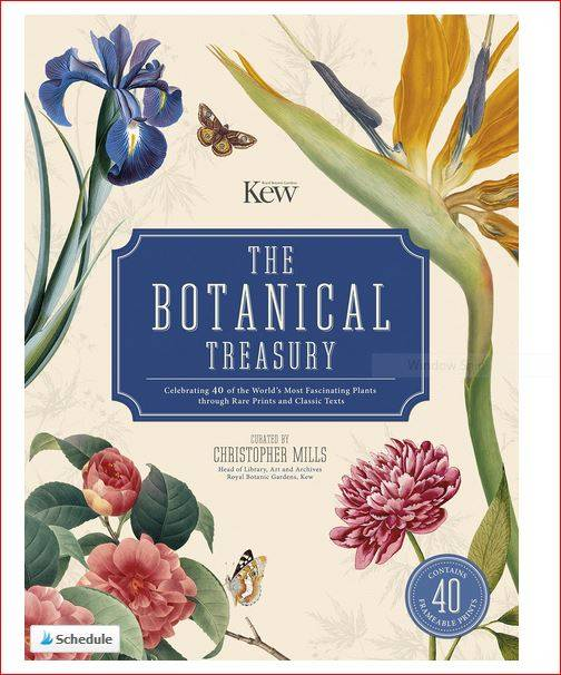 Win The Botanical Treasury and 40 A4 botanical prints
