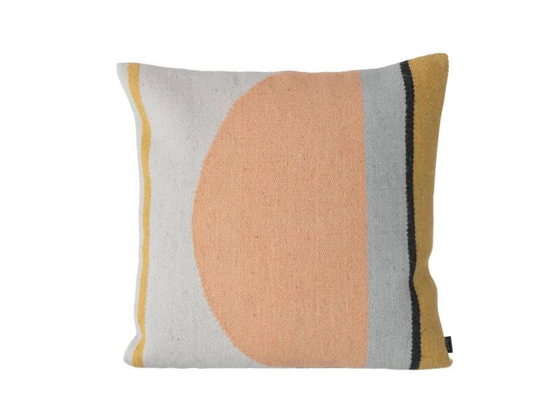 ferm-living-kelim-cushion-semicircle