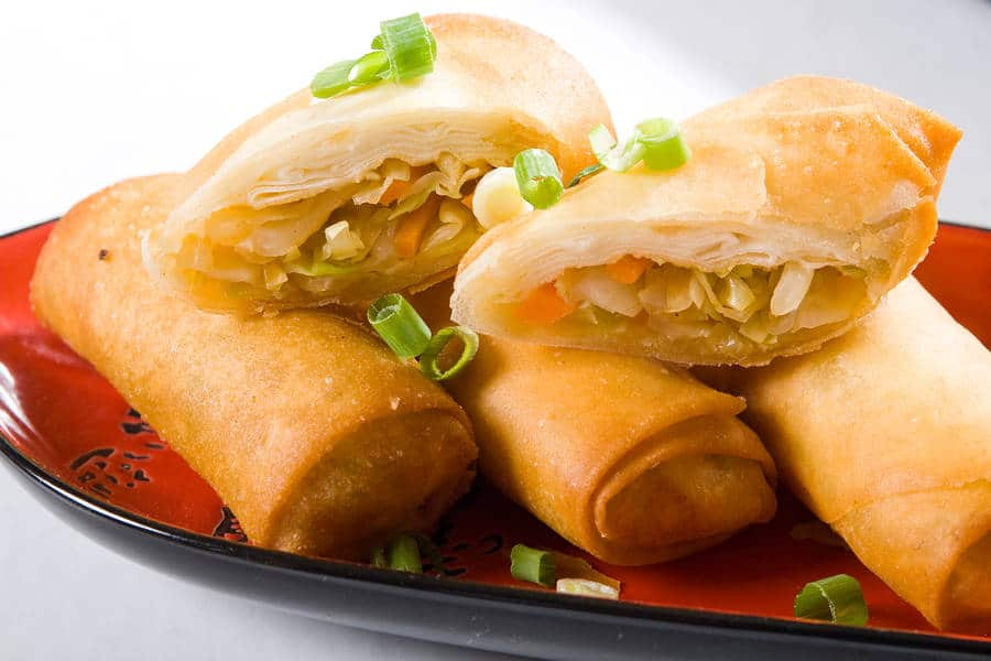 Healthy and Tasty Vegetable Spring Rolls