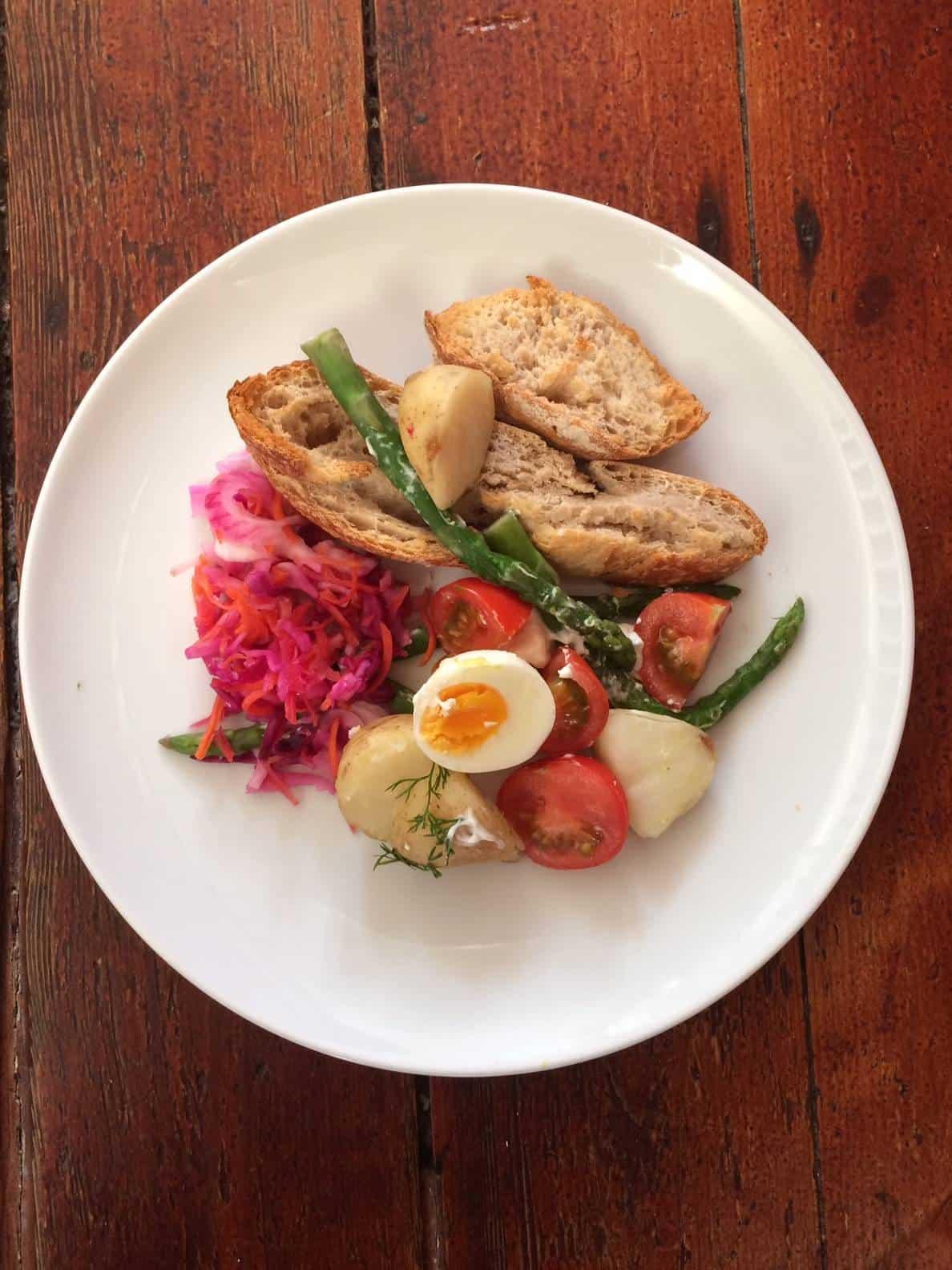 Warm Cypriot Salad