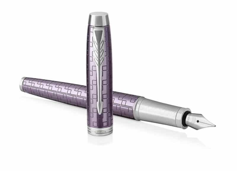 Parker IM Premium Fountain Pen in Dark Violet