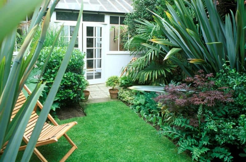 How to optimise space in Small Gardens