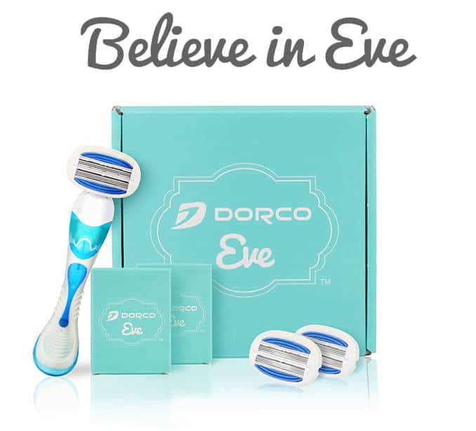 Dorco EVE razor subscription service