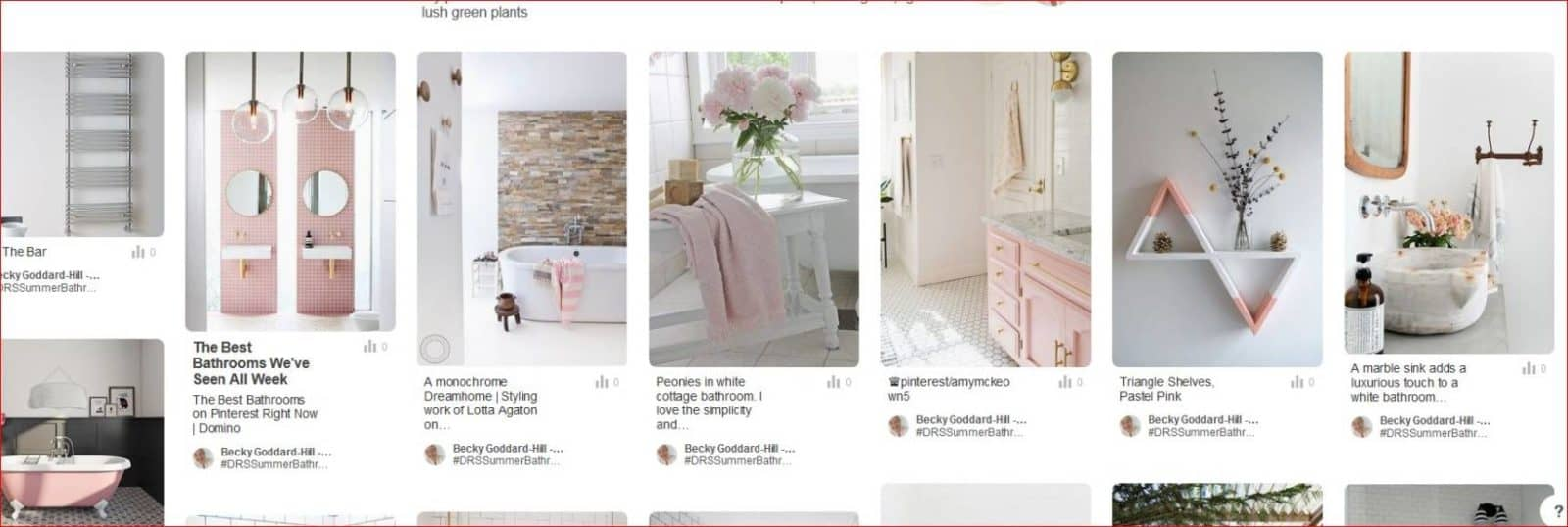 Creating a perfect summer bathroom competition