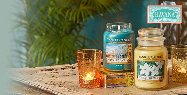 Win a Tobacco Flower Yankee Candle from the latest collection Viva Havana