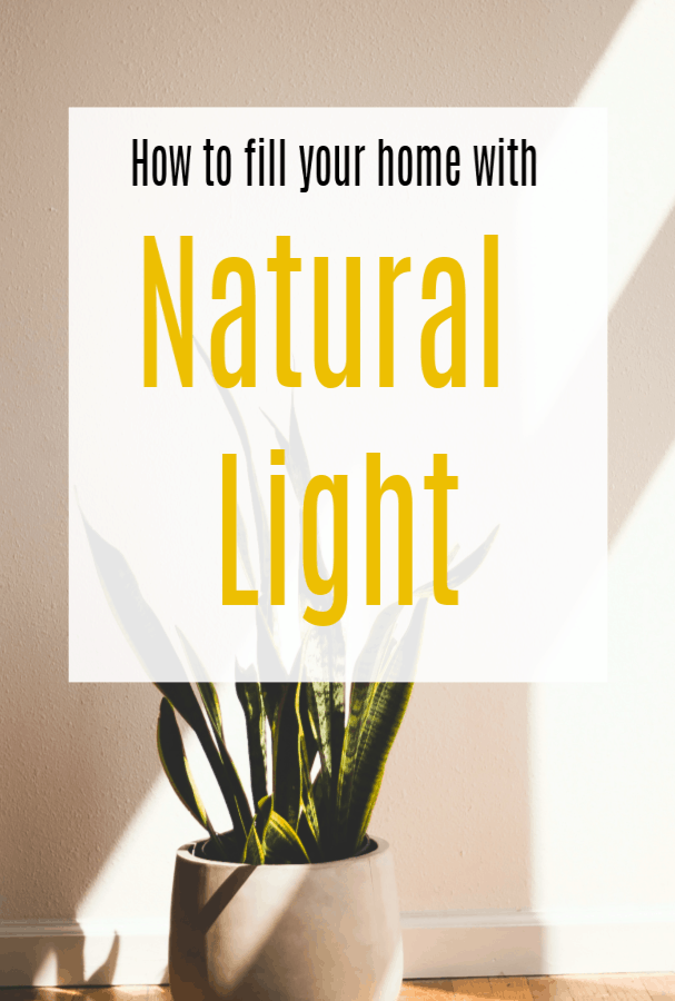 more natural light in your home