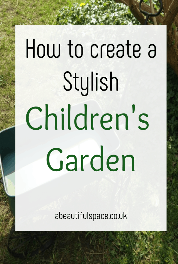 A stylish children's garden , it can totally be possivbel to create a garden that is both fun for the kids and looks good and pleases you too. Garden design for the WHOLE family #gardendesign #familygarden #beautifulgarden #kidsgaren