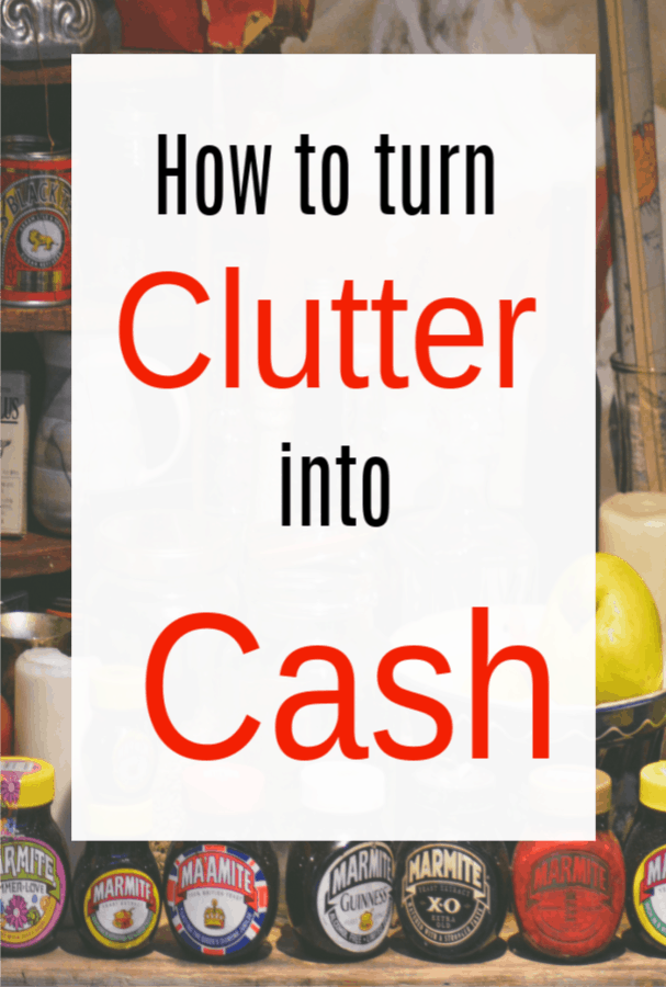 clutter into cash