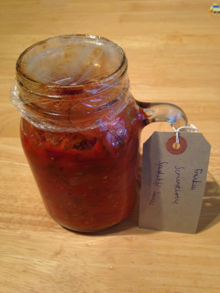 Tomato and Chilli Spaghetti Sauce