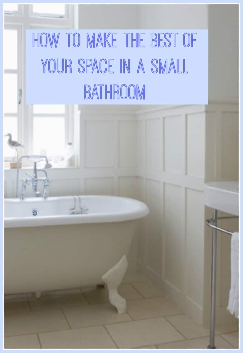 How to make the best of your space in a small bathroom a for How to make your small room beautiful
