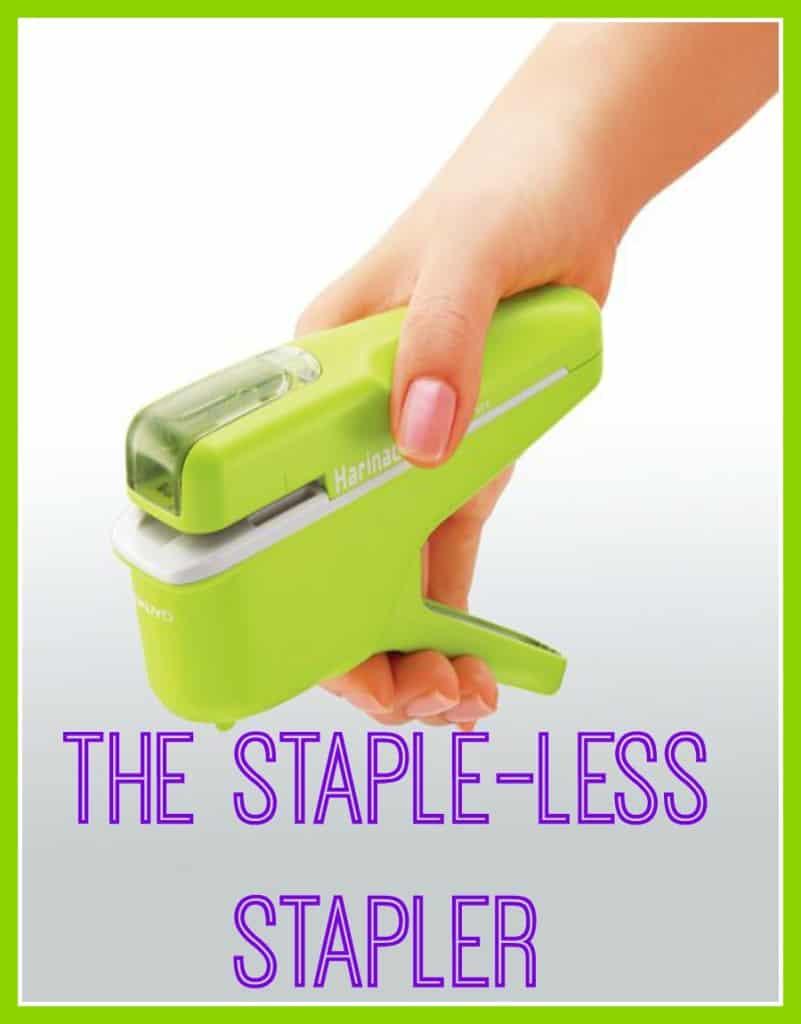 stapleless stapler, staple free stapler