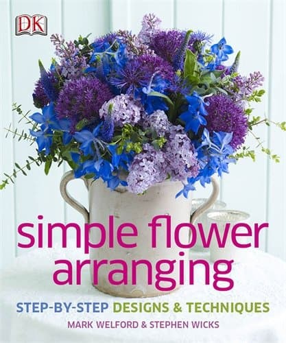 simple flower arranging, How to Make Flower Lollipops