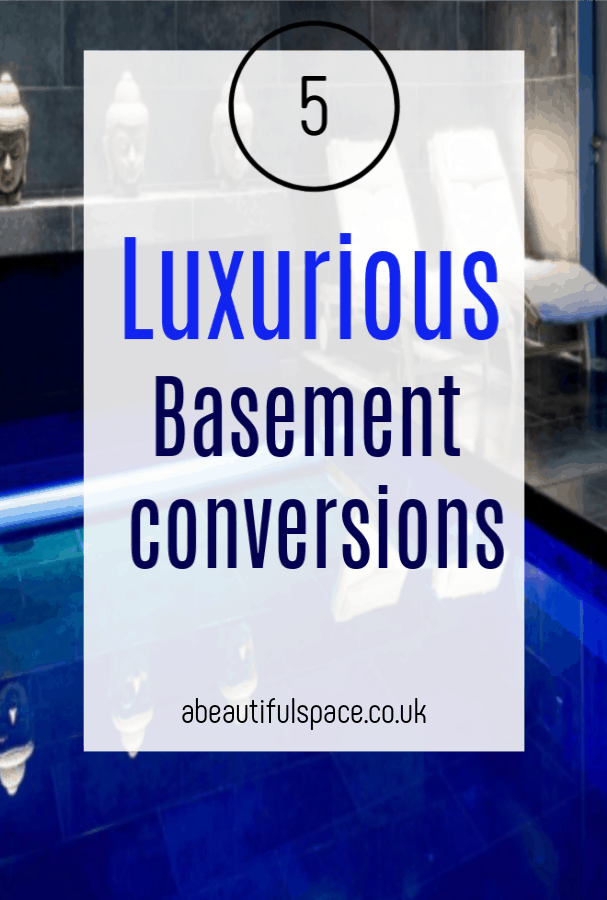 Luxurious Basement Conversions, 5 fantastic basement remodels that bring elegance and glamour to a home #basement #basementrenovation 'basementconversion