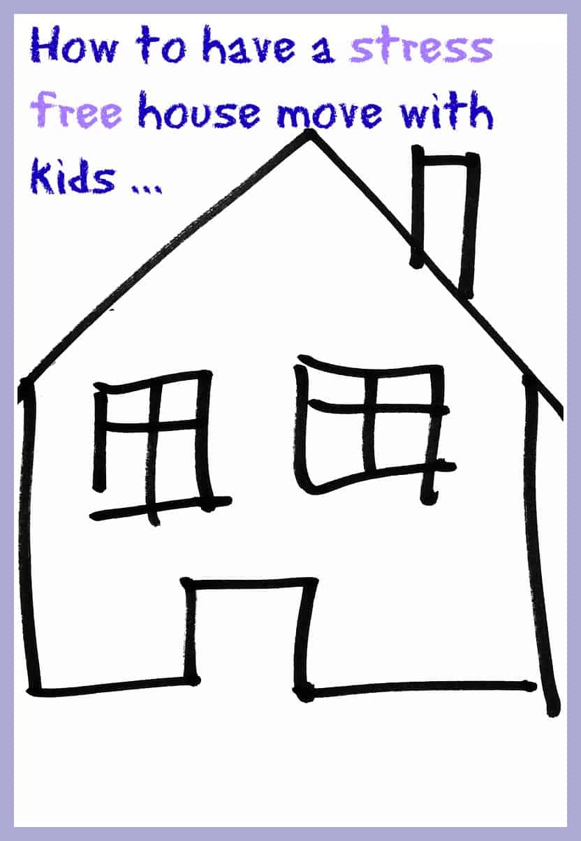 How to have stress free house move with kids a beautiful for How to move a building