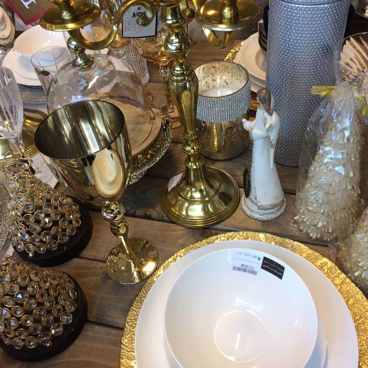 Styling your Christmas with Homesense