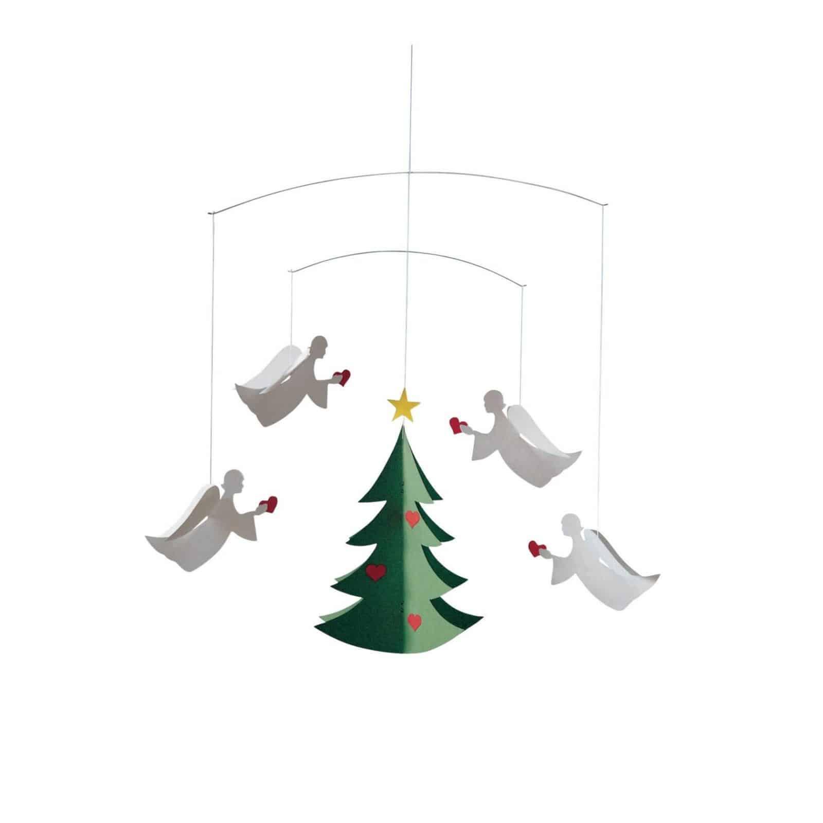 Skandi style Christmas decor