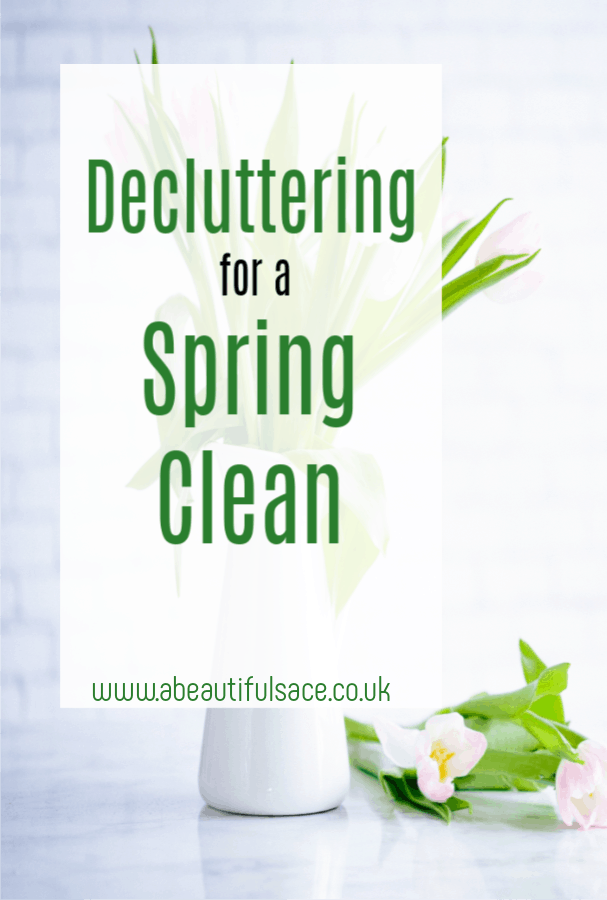 Decluttering for a Spring Clean
