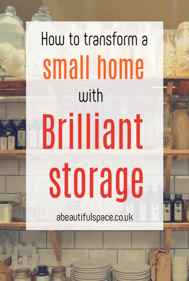Transform a Small Home, brilliant storage hacks to help you transform your tiny home #smallhome #tinyhome #homehacks #storagehacks