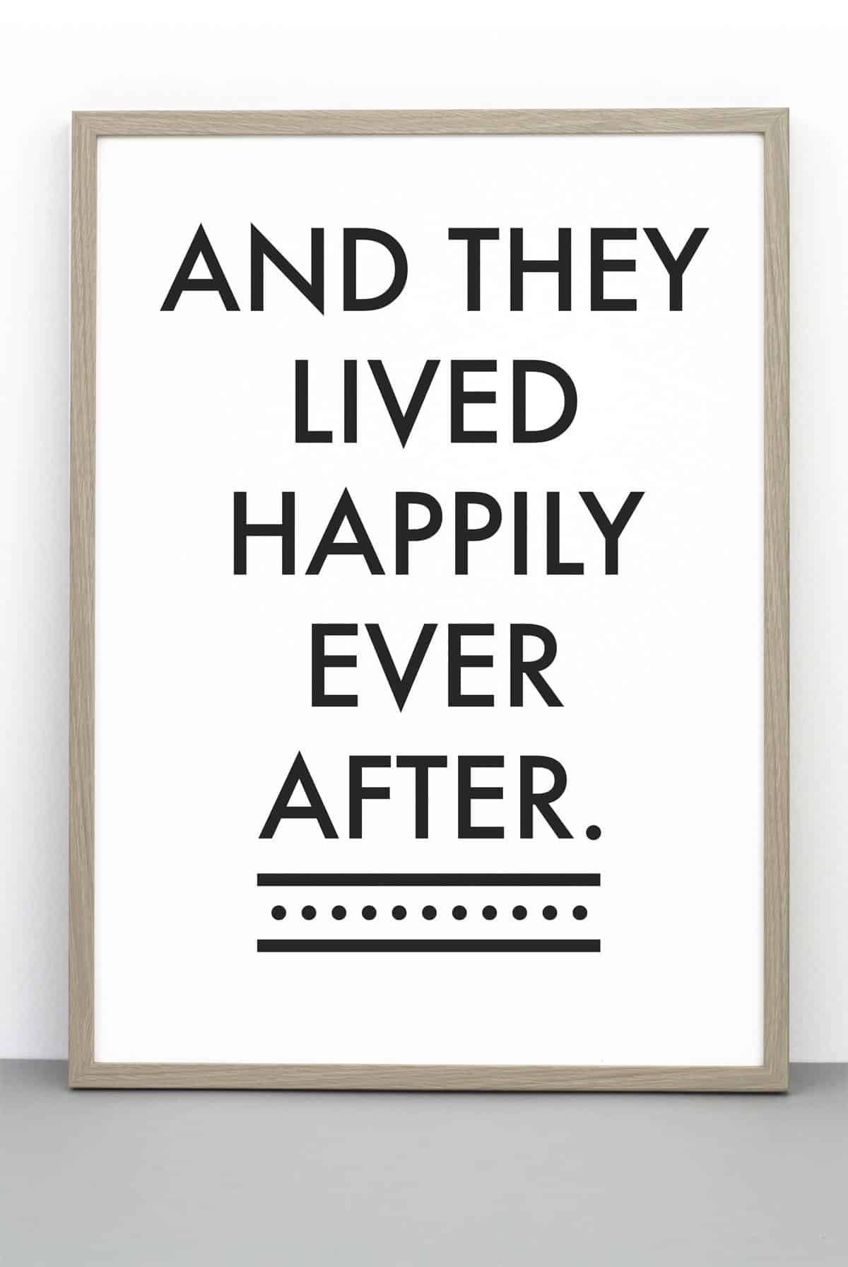 and they lived happily ever after - 584×700