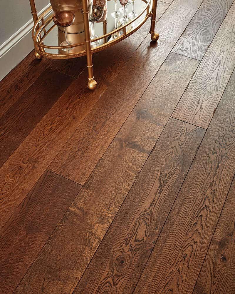 Engineered wood flooring inspiration for Hardwood floors too shiny